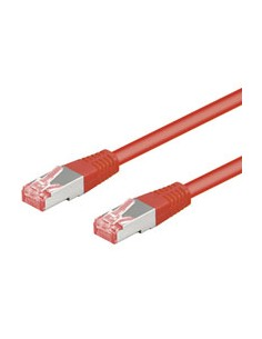 Goobay CAT 6-100 SSTP PIMF Red 1m verkkokaapeli Punainen Goobay 68278 - 1