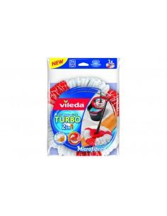 Vileda Turbo 2in1 Mop head Red, White Vileda 151609 - 1