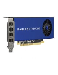 Hewlett Packard Enterprise AMD Radeon Pro WX4100 WX 4100 4 GB GDDR5 Hp Q1K36A - 1