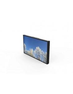 HI-ND Wall casing, QM65R Landscape Black RAL9005 Valkoinen Hi Nd WC6500-0101-02 - 1