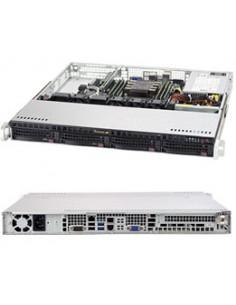 Supermicro SuperServer 5019P-M Intel® C621 LGA 3647 (Socket P) Teline ( 1U ) Musta Supermicro SYS-5019P-M - 1