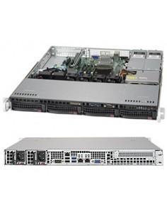 Supermicro SuperServer 5019S-MR-G1585L Intel® C236 BGA1440 Teline ( 1U ) Musta Supermicro SYS-5019S-MR-G1585L - 1