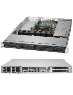 Supermicro SuperServer 5019S-W4TR Intel® C236 LGA 1151 (Socket H4) Rack (1U) Black Supermicro SYS-5019S-W4TR - 1