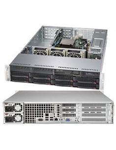 Supermicro SuperServer 5028R-WR Intel® C612 LGA 2011 (Socket R) Teline ( 2U ) Hopea Supermicro SYS-5028R-WR - 1