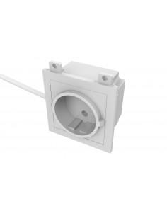 Vision TC3 PWREU socket-outlet CEE 7/3 White Vision TC3 PWREU - 1