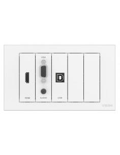 Vision TC3-PK socket-outlet White Vision TC3-PK - 1