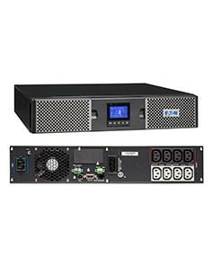 Eaton 9PX 1kVA Taajuuden kaksoismuunnos (verkossa) 1000 VA W 8 AC-pistorasia(a) Eaton 9PX1000IRT2U - 1