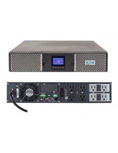 Eaton 9PX 1500RT Taajuuden kaksoismuunnos (verkossa) 1500 VA 1350 W 8 AC-pistorasia(a) Eaton 9PX1500RT - 1