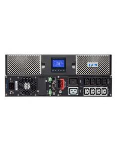 Eaton 9PX3000IRT2U uninterruptible power supply (UPS) Double-conversion (Online) 3000 VA W 10 AC outlet(s) Eaton 9PX3000IRT2U -