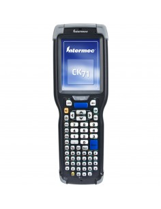 "Intermec CK71 RFID-handdatorer 8.89 cm (3.5"") 480 x 640 pixlar Pekskärm 584 g Svart Intermec CK71AA6EN00W4100 - 1"