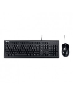 ASUS U2000 keyboard USB QWERTZ German Black Asustek 90-XB1000KM00010- - 1
