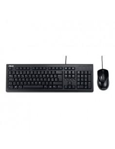 ASUS U2000 tangentbord USB QWERTZ tyska Svart Asustek 90-XB1000KM00010- - 1