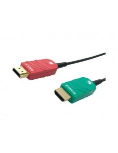 Kramer Electronics CRS-AOCH/COLOR-50 HDMI-kaapeli 15.2 m HDMI-tyyppi A (vakio) Musta, Sininen, Punainen Kramer 97-1400050 - 1