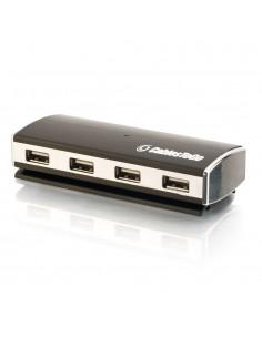 C2G 81645 gränssnittshubbar 480 Mbit/s Svart C2g 81645 - 1
