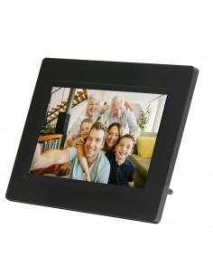 "Denver PFF-710BLACK digital photo frame Black 17.8 cm (7"") Touchscreen Wi-Fi Denver 119101010010 - 1"