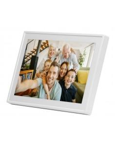 """Denver PFF-711WHITE digitala fotoramar Vit 17.8 cm (7"""") Pekskärm Wi-Fi Denver 119101010040 - 1"""