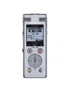 Olympus DM-720 Sisäinen muisti ja flash-muistikortti Hopea Olympus V414111SE000 - 1