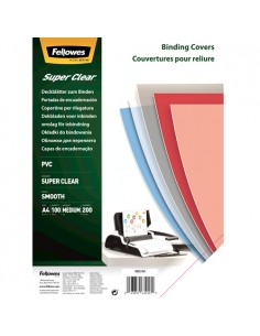 Fellowes 5376107 binding cover A4 PVC Transparent 100 pc(s) Fellowes 5376107 - 1