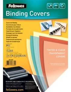 Fellowes 53762 binding cover Plastic Transparent 100 pc(s) Fellowes 53762 - 1