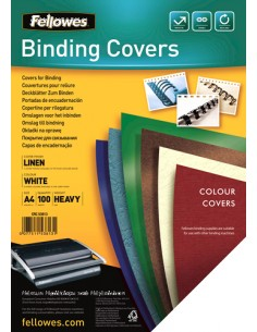 Fellowes 5381302 binding cover A4 Paper White 100 pc(s) Fellowes 5381302 - 1