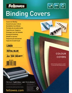 Fellowes 5381502 binding cover A4 Paper Blue 100 pc(s) Fellowes 5381502 - 1