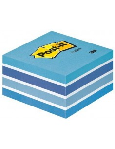 Post-It 7000033875 itseliimautuva muistilappu Neliö Sininen 450 arkkia 3m 7000033875 - 1