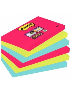 Post-It 655-6SS-JP self-adhesive note paper Rectangle Multicolour 90 sheets 3m 7100041903 - 1