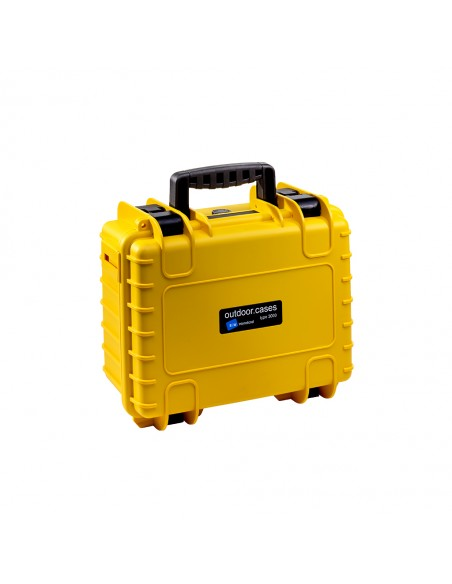 B&W 3000/Y/RPD varustekotelo Salkku/klassinen laukku Keltainen B&w International 3000/Y/RPD - 2
