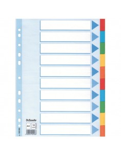Esselte Multicoloured Card Divider välilehti Monivärinen 1 kpl Esselte 100193 - 1