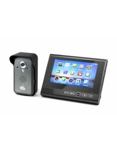 """Technaxx TX-59 videopuhelinjärjestelmä 0.3 MP 17.8 cm (7"""") Musta Technaxx 4571 - 1"""