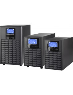 PowerWalker VFI 2000C LCD Taajuuden kaksoismuunnos (verkossa) 2000 VA 1600 W 4 AC-pistorasia(a) Bluewalker 10120178 - 1