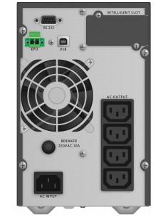 PowerWalker VFI 1000 TG Taajuuden kaksoismuunnos (verkossa) VA 900 W 4 AC-pistorasia(a) Bluewalker 10122041 - 1
