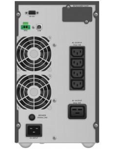 PowerWalker VFI 3000 TG UPS-virtalähde Taajuuden kaksoismuunnos (verkossa) VA 2700 W 5 AC-pistorasia(a) Bluewalker 10122043 - 1