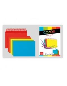 Elco 74618.00 kirjekuori Paperi Sininen, Vihreä, Oranssi, Punainen, Keltainen Mayer 74618-00 - 1