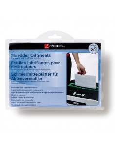 Rexel Shredder Oil Sheets (20) 20 kpl Rexel 2101949 - 1