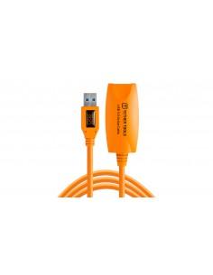 Tether Tools CU3017 USB-kaapeli 5 m 3.2 Gen 1 (3.1 1) USB A Oranssi Tether Tools CU3017 - 1