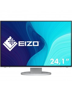 "EIZO FlexScan EV2495-WT computer monitor 61.2 cm (24.1"") 1920 x 1200 pixels WUXGA LED White Eizo EV2495-WT - 1"