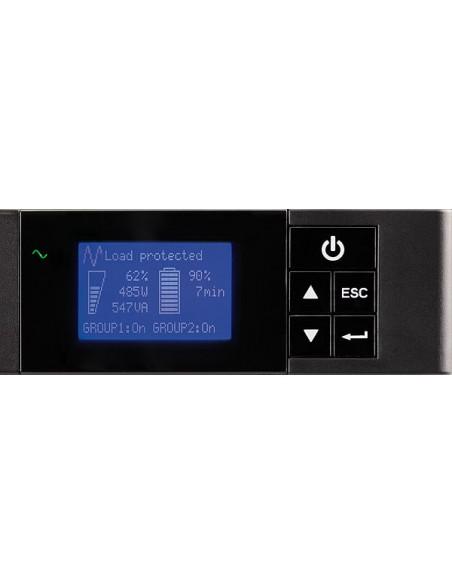 Eaton 5P650IR UPS-virtalähde Linjainteraktiivinen 650 VA 420 W 4 AC-pistorasia(a) Eaton 5P650IR - 6