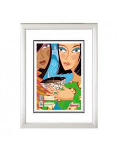 """Hama """"Madrid"""" 13 x 18 cm Vit Hama 31765 - 1"""