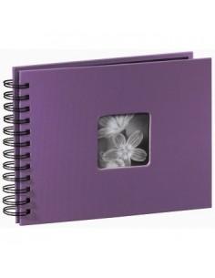 "Hama ""Fine Art"" Spiral Album, purple, 22x17/50 fotoalbum Lila 10 x 15. 13 18 Hama 94881 - 1"