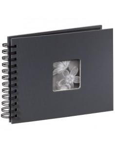 "Hama ""Fine Art"" Spiral Album, grey, 22x17/50 photo album 10 x 15. 13 18 Hama 94884 - 1"