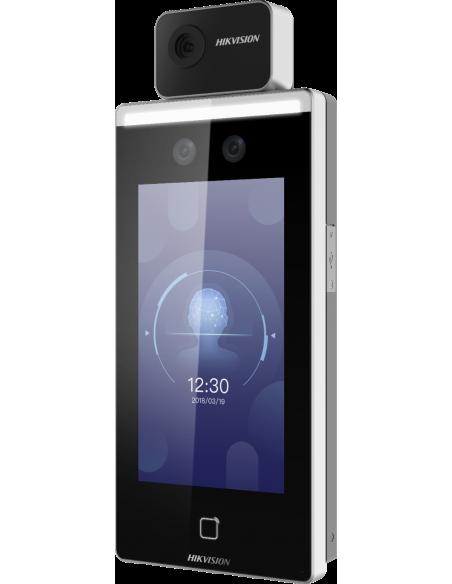 "Hikvision Digital Technology DS-K1TA70MI-T kasvojentunnistuspääte 2 MP 17.8 cm (7"") Musta Hikvision DS-K1TA70MI-T - 2"