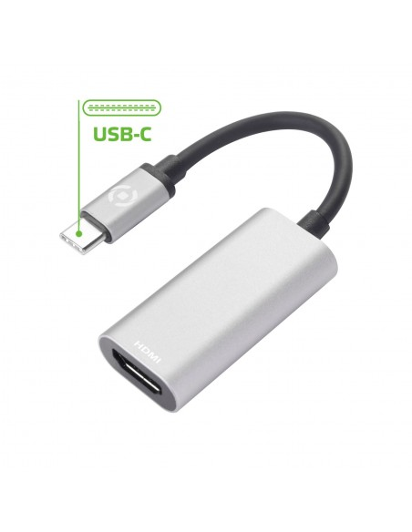 Celly PROUSBCHDMIDS USB grafiikka-adapteri Hopea Celly PROUSBCHDMIDS - 1
