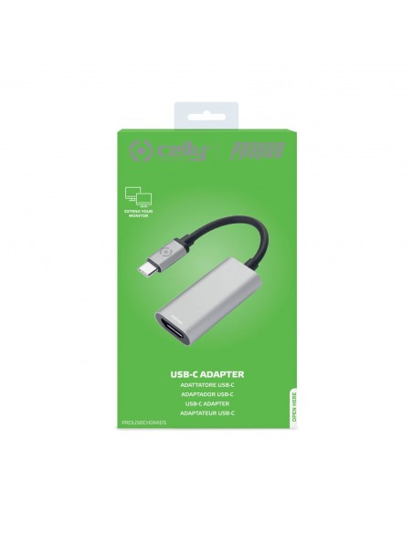 Celly PROUSBCHDMIDS USB grafiikka-adapteri Hopea Celly PROUSBCHDMIDS - 4