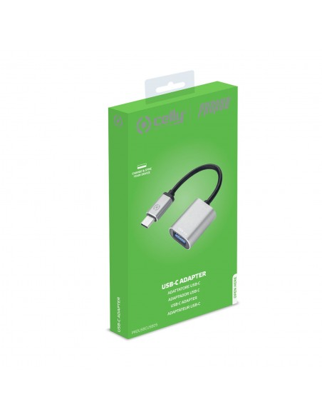 Celly PROUSBCUSBDS USB-kaapeli 3.2 Gen 1 (3.1 1) USB C A Hopea Celly PROUSBCUSBDS - 4