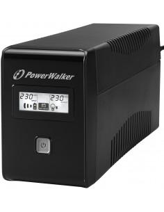 PowerWalker VI 850 LCD UPS-virtalähde Linjainteraktiivinen VA 480 W Bluewalker 10120017 - 1