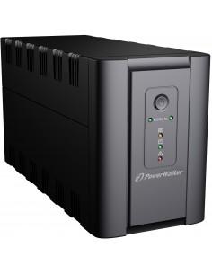 PowerWalker VI 1200 IEC UPS-virtalähde Linjainteraktiivinen VA 600 W 6 AC-pistorasia(a) Bluewalker 10120075 - 1