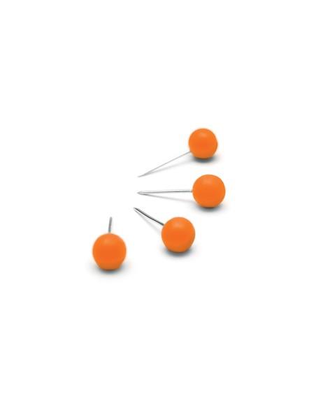 Nobo 1905329 paperitavaranuppineula Oranssi 100 kpl Nobo 1905329 - 1
