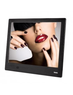 "Hama 8SLB digitala fotoramar Svart 20.3 cm (8"") Hama 118563 - 1"
