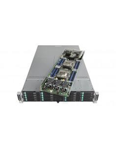 Intel VRN2224THY6 server Intel® C612 LGA 2011-v3 Rack (2U) Svart, Silver Intel VRN2224THY6 - 1